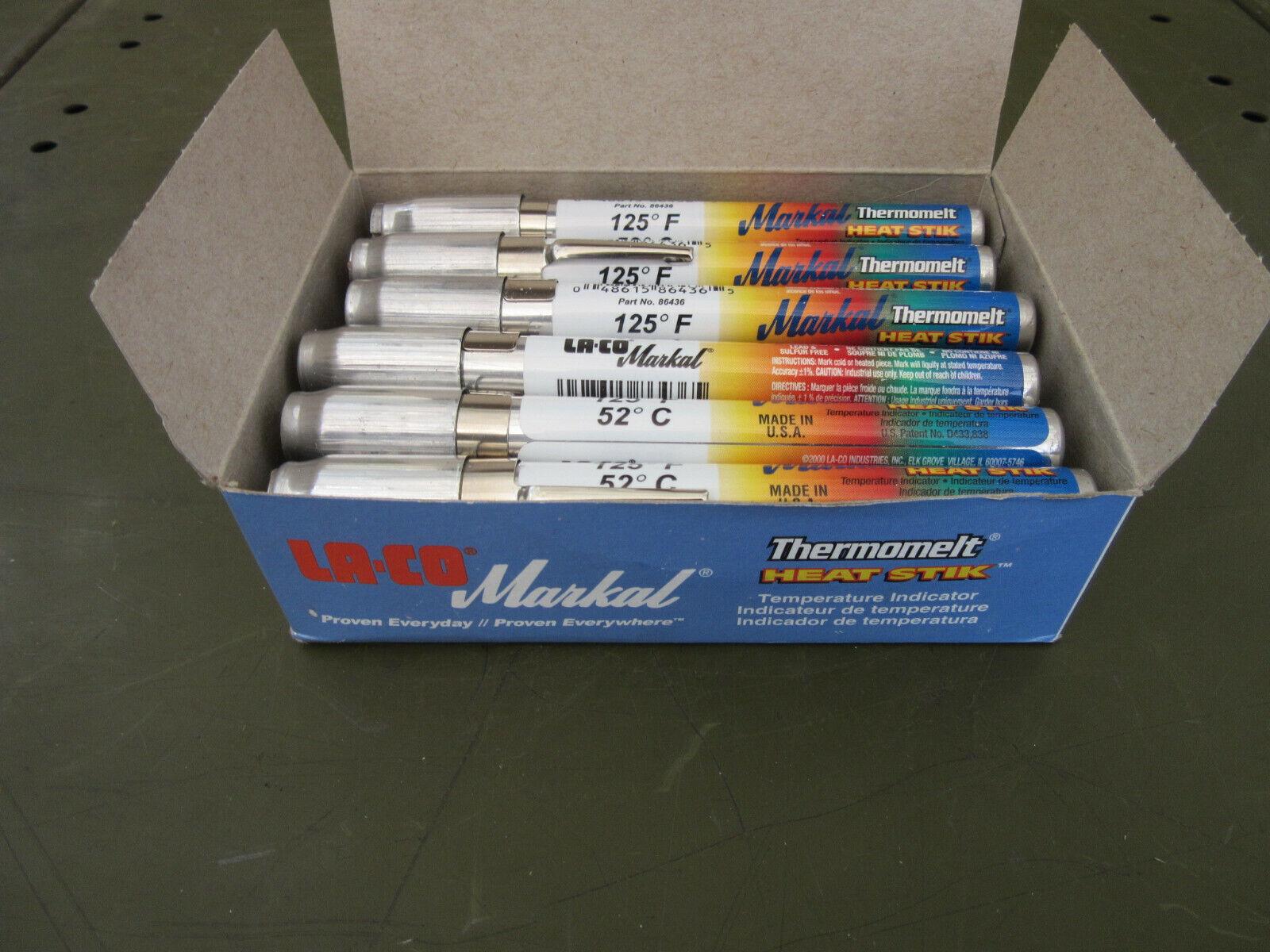 329-degree C  Temperature Indicating Stick Markal Heat Stick 625-degree F