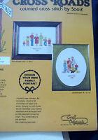 Family Generations Portrait Cc160 Cross Stitch Kit Pet Pattern 13 X 16 Inches