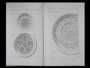 Rechercher Des Vols Architecture, Roses, Rosaces - 1873 - Materiaux Et Documents, Raguenet