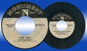 Philippines-SANTO-amp-JOHNNY-Sleep-Walk-45-rpm-Record