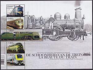 Belgique-2017-Bloc-Feuillet-LA-BEAUTE-DU-TRAIN-DESIGN-FERROVIAIRE-MNH-A6076