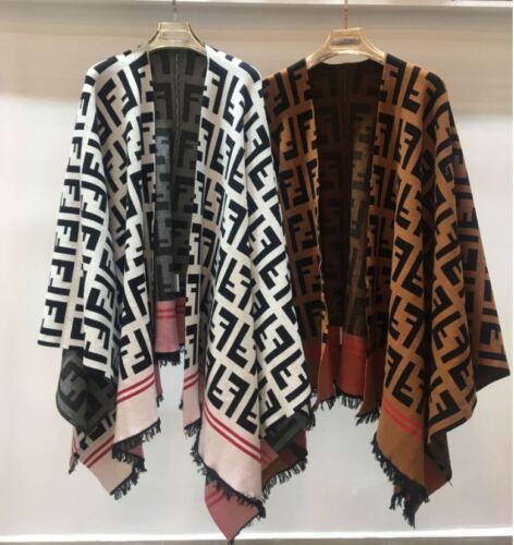 Cappotto allentato Coat Fashion maglia Mantello Cardigan donna Nappe Cape invernale a da Casual lavorato Occident qwnf6E
