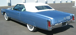 1971 76 Cadillac Eldorado Convertible Top