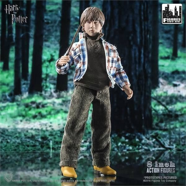 Ron Weasley Action Figure 20 cm Harry Potter - Brand Figures Toy Company Mego