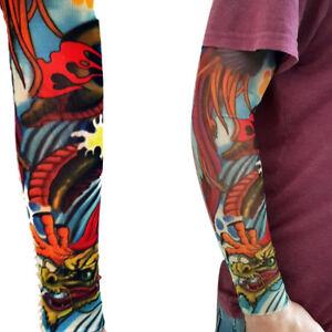 b37b0ff43 Dragon River Halloween Full Arm Leg Sleeve Stocking Design Bird   eBay