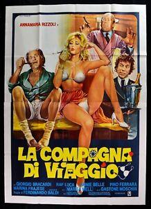 Poster Die Begleiter Von Reisekit Annamaria Rizzoli Marisa Mell Baldi Frajes