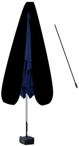 Deluxe Polyester Schutzhülle Schutzhaube Abdeckung mit stab für Sonnenschirm Sch