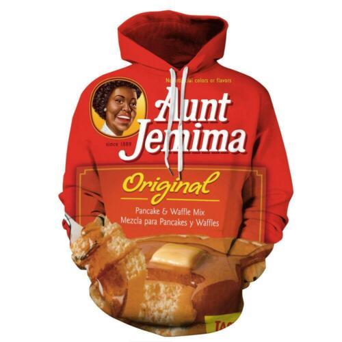 Funny Original Aunt Jemima Graphic Men Women Pullover Hoodies Jackets Shirts Top