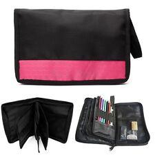 for 48pcs Pencil Pen Case Makeup Bag Canvas Pouch Storage Holder Art Supply New