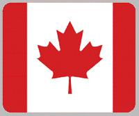 "Blanket Fleece Throw National Flag Canada 50""x60"" NEW with protective sleeve"