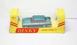 Dinky 134 Triumph Vitesse In Its Original Export Box - Very Near Mint