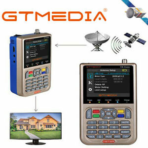 Satelliten-Finder-Messgeraet-DVB-S2-S2X-3-5-039-039-HD-Digital-LCD-GTMedia-V8-Satfinder