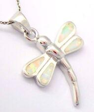 Libelle Opal Anhänger 925 Silber STERLINGSILBER