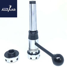 Lathe Tailstock Floating Type Die Holder Set 3mt Shank Inch Imperial Size Mt3