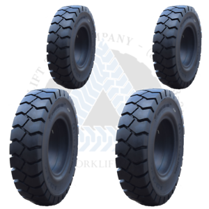 """7.00X12 5/""""6.00X9 4/"""" SOLID FORKLIFT TIRES 700X12 600X9TR 4X DEAL"""