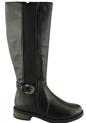 GROSBY PAYTIN WOMENS/LADIES KNEE HIGH BOOTS/RIDING BOOTS/WIDE CALF BOOTS/SHOES