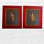 thumbnail 6 - Pair Balinese dancers original art gouache paintings signed Wah Cheong HK framed