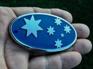 SOUTHERN-CROSS-AUSSIE-75mm-BLUE-CAR-BADGE-Metal-Flag-Emblem-NEW-AUSTRALIA