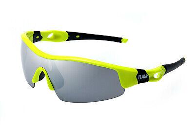 Neueste Kollektion Von Ravs Sonnenbrille Schutzbrille Gelb Schwarz - Dortmund - Glas Verspiegelt