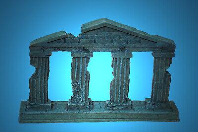 Aquarium Deko Antike Saulen Ruine Griechenland Italien Dekoration Zubehor Ebay