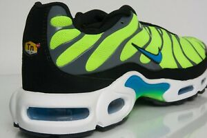 Details about Men's Nike Tuned 1 Air Max Plus TN Volt Green Trainers UK11 New & Boxed FreePost