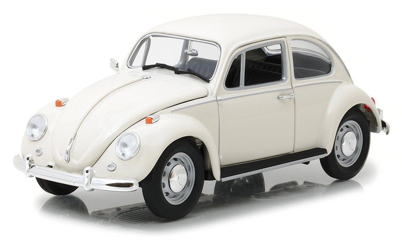 verdelight 1967 Volkswagen Beetle Right He Drive bianca 1 18 Diecast modello auto