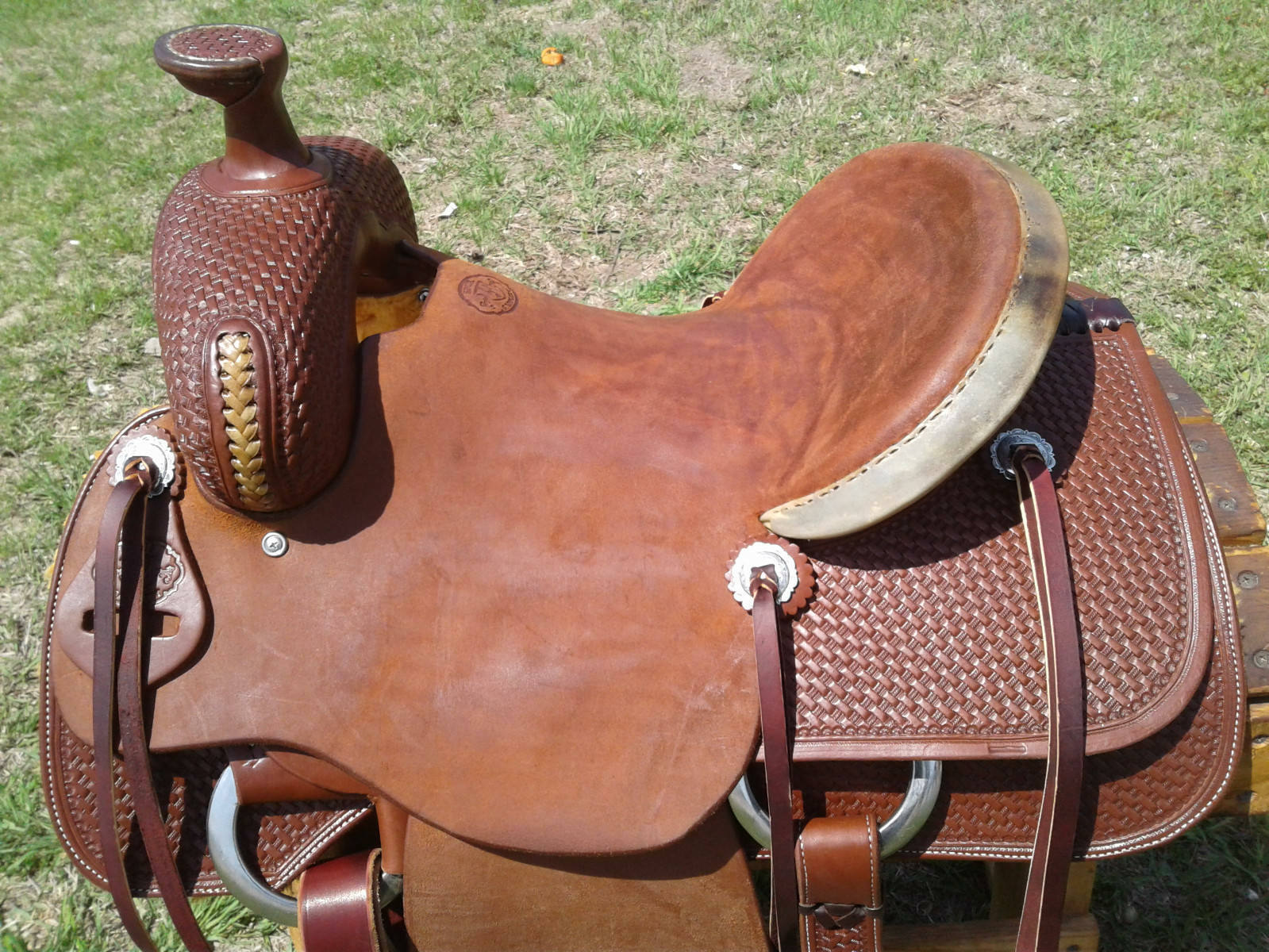 15  Spur Saddlery Ranch Roping Saddle - Made in Texas