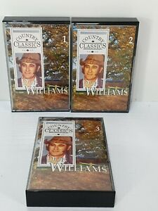 Vintage-Retro-Don-Williams-Country-Music-Cassettes-Tapes-Bundle-x-3-Classics