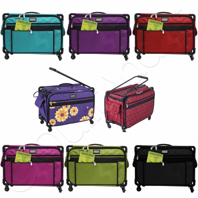 Tutto Tote On Wheels Large 22 Choose From 8 Colors Rolling Sewing Machine