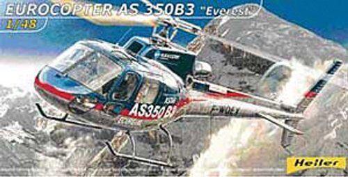 HELLER 80488 Eurocopter As 350 B3 Everest plastic model kit échelle 148