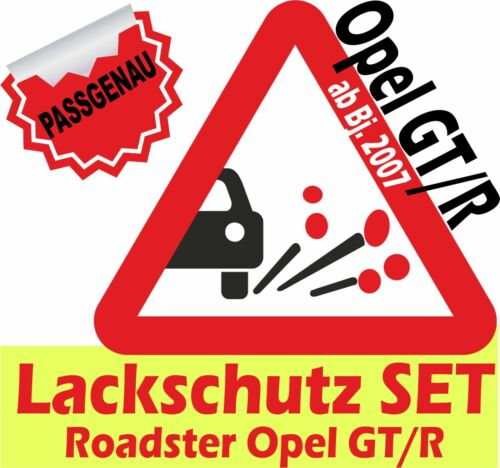 Lackschutzfolie Opel GT Roadster Steinschlagschutzfolie Schutzfolie Autofolie