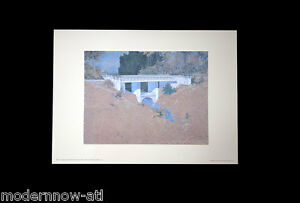 Frank Lloyd WRIGHT Lithograph #'ed LIMITED Ed. 52x38cm +Custom ARCHIVAL FRAMING