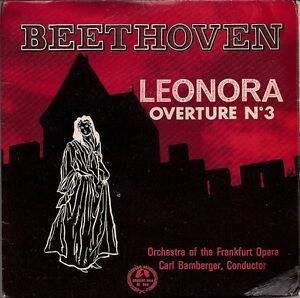 Orchestra-Frankfurt-Opera-Beethoven-Leonora-Overture-No-3-Stereo-UK-45-7-034-EP