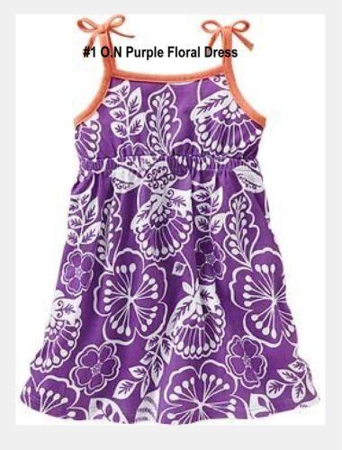 NEW Toddler Girls GAP Old Navy Carter/'s Kidgets Pretty Summer Dress 18-24M to 4T