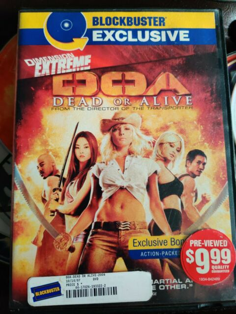 Doa Dead Or Alive Dvd 2007 For Sale Online Ebay
