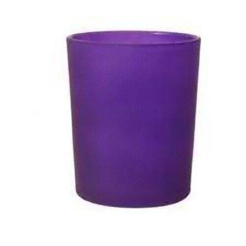 100 comprar a granel púrpura púrpuraa Cristal Tealight sostenedor de vela Fiesta Boda Cuadro