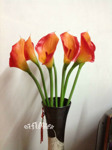 8 x Latex PU Calla Lily F31 Artificial Flowers and Plants