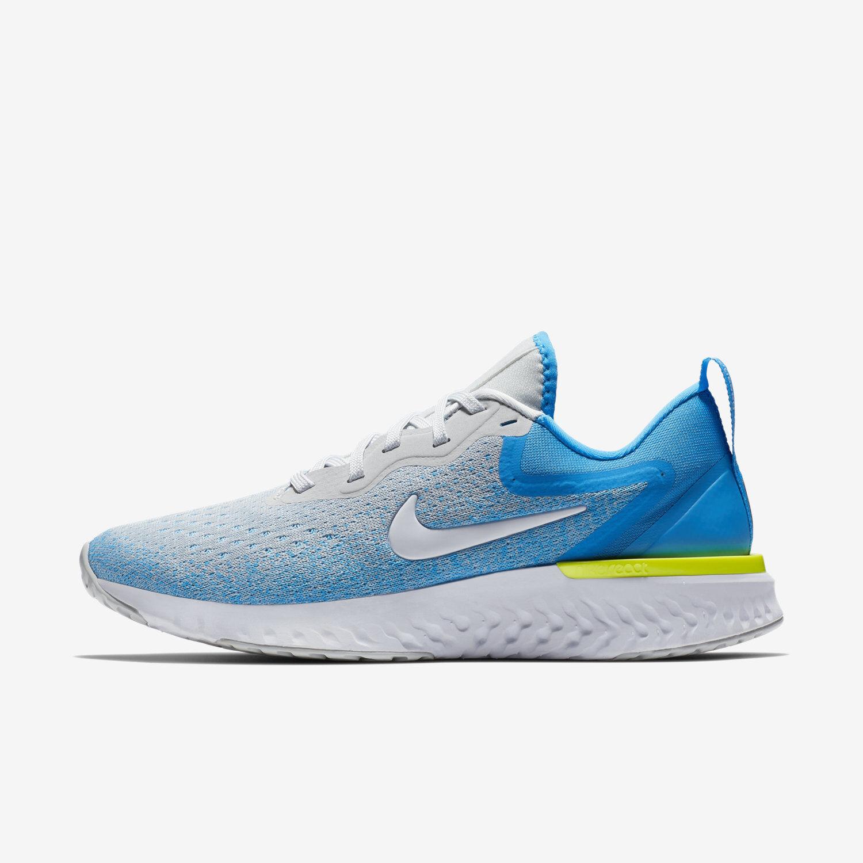 Wmns Nike Odyssey React Sz 8 Wolf Grey/White/Blue Hero AO9820-005 FREE SHIPPING
