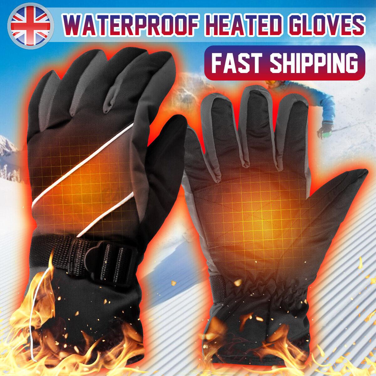 Men Women Winter Warm Gloves Sport Thermal Ski Gloves Windproof Waterproo