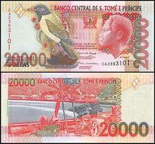 Saint Thomas & Prince 20,000 (20000) Dobras, 2004, P-67c, UNC