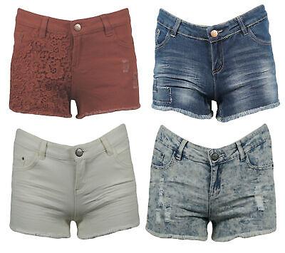 Donna Jeans Hotpants Shorts Pantaloni Corti Jeans Shorts Estate-mostra Il Titolo Originale