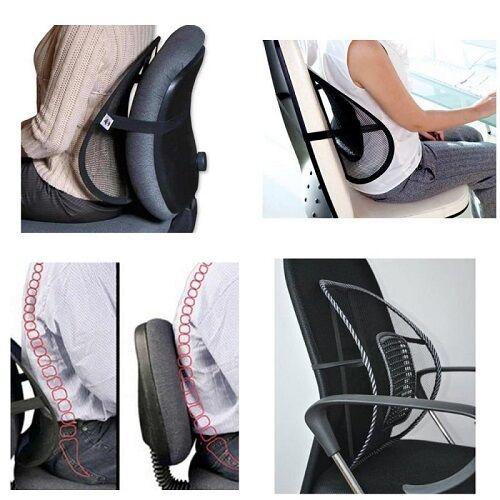 Cuscini Lombari Auto.Lumbar Support Car Seat Pillow Pain Relief Office Chair Ebay