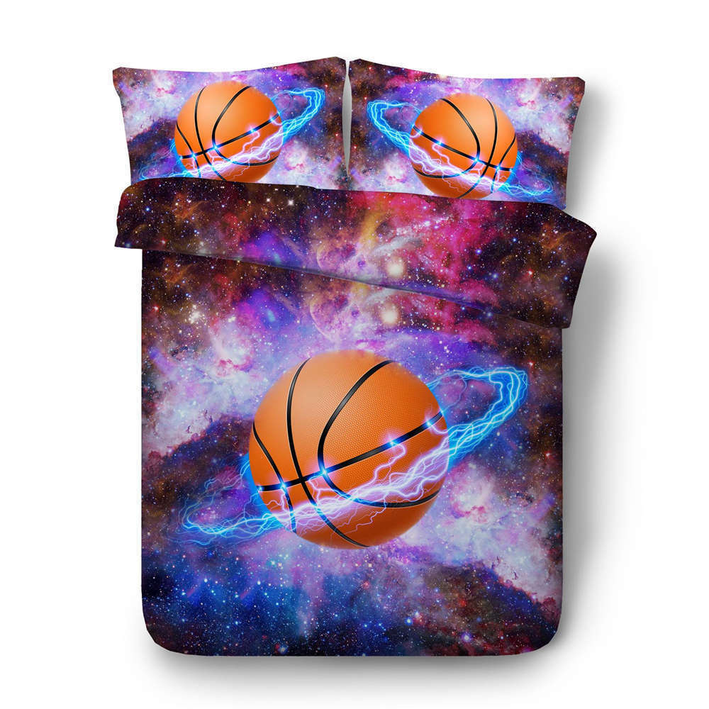 Basketball Baby 3D Printing Duvet Quilt Doona Covers Pillow Case Bedding Sets