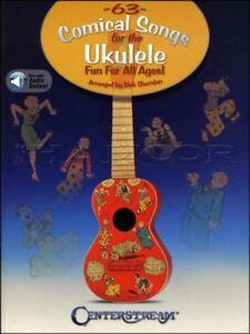 Details about 63 Comical Songs for the Ukulele TAB & Music Book/Audio  Chords Fun For All Ages