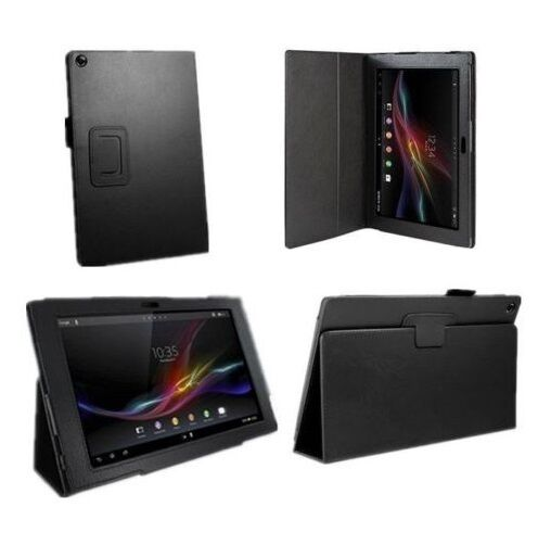 new arrival 7123f 68e6f UK Leather Smart Case Cover for 10.1 Inch Sony Xperia Z2 Tablet