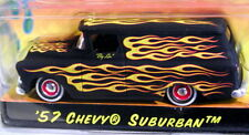 JADA 57 1957 CHEVY SUBURBAN ROAD RATS FLAMED CUSTOM STYLE HOT ROD CHEVROLET CAR