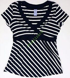 New-Gap-Womens-Maternity-Nursing-Stripe-Top-NWOT-Size-sz-XXS-XS-S-M-L-XL