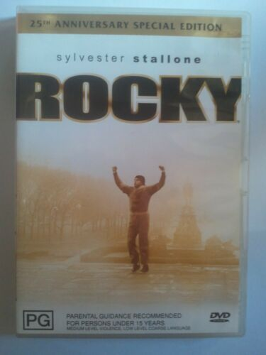 1 of 1 - ROCKY DVD - 25th Anniversary Special Edition - GC - Sylvester Stallone