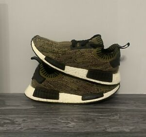 Details about Adidas NMD R1 PK Glitch olive camo Size 7 Limited To 900 Pairs