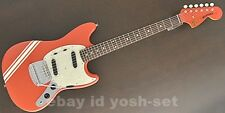 FENDER JAPAN Mustang MG73/CO FRD Electric Guitar From Japan